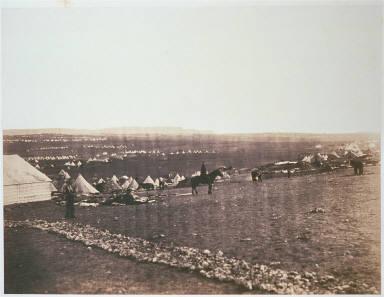 Plateau before Sebastopol, Turkish Tents in the distance