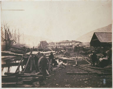 Landing Place, Railway Stores, Balaklava