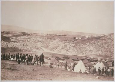Encampment of Horse Artillery