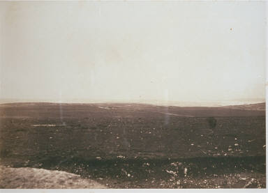 Distant View of Sebastopol with the Lines of Gordon's Battery