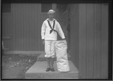 Sailor with Duffle Bag