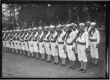 In Naval Camp 1917