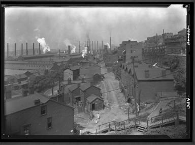 View of Steel Mill Housing