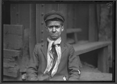 Pittsburgh Survey, Portrait Of Young Boy, Steelworker