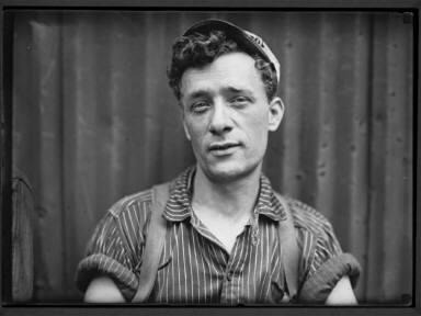 100% American Steel Worker, Pittsburgh, PA 1909 c.