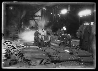 Making Nails in Small Iron Works