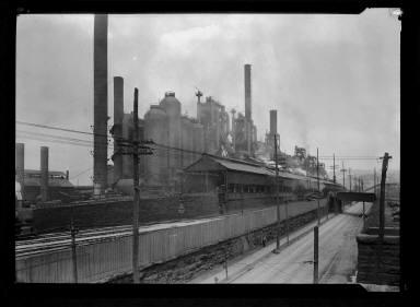 Steel Mills-Near Pittsburgh
