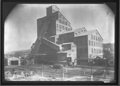 Coal Breaker-Exterior of Mine