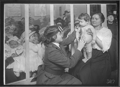 Dr. Boness with Children