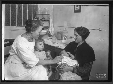Mother and Children at Center Health
