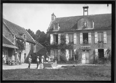 Orphan visits Norman Homestead St.Christopher