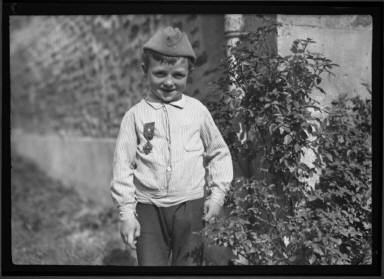 7 Year Orphan With Croix De Guerre.Saved All His Pennies....