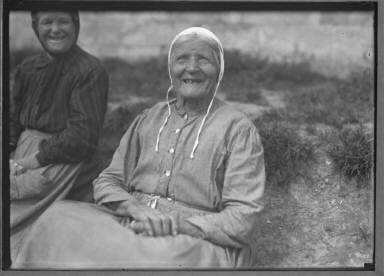 Old Lorraine Peasant Woman
