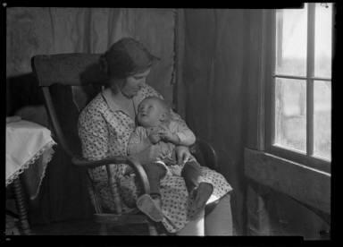 Rural Mother, Oklahoma/ ARC/USA ARK