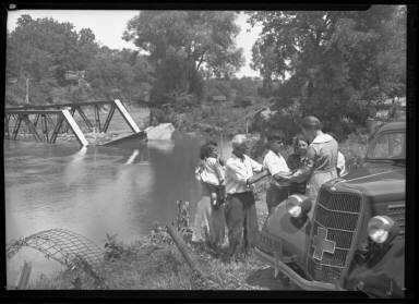 Flood Relief, Amer. Red Cross Upstate N.Y. 1935