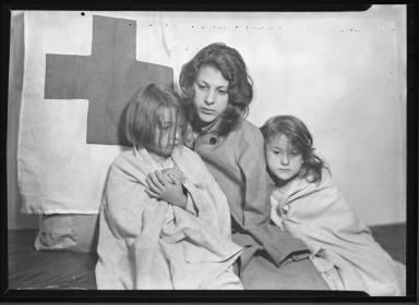 Refugees from Flood, Watkins Glen:NY...1935