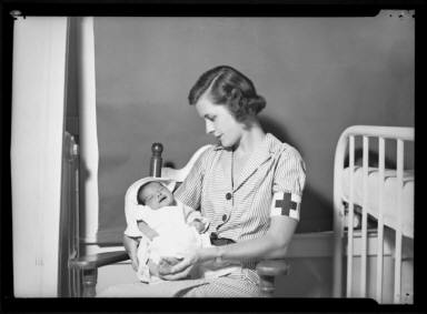 ARC Nurse and Baby