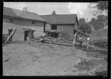 Wreckage from Flood