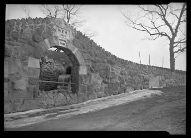 WPA 1936 Hopkins Falls