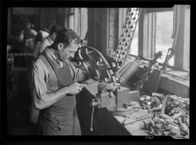 Bronze worker