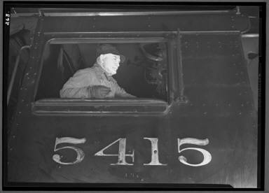 Bob Butterfield in Cab #5415