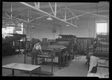 Men at Press