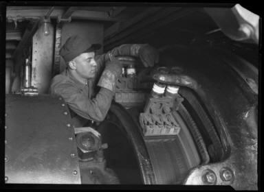 Motorman's Asst. Inside Elec. locomotive PA RR