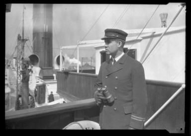 Officer on Bridge