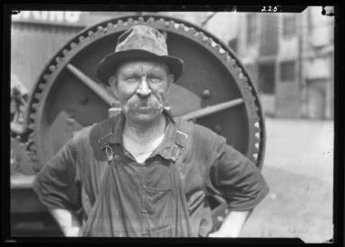 The Winch-Man/Working On Dock Of A Big Terminal Co. In NY
