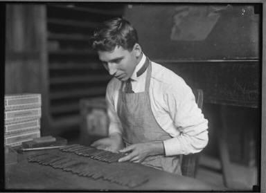 Cuba Cigar Maker Tampa, 1910