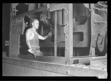Mill Worker, Crane Booth