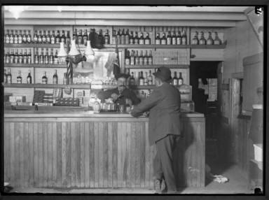 Man in Liquor Store