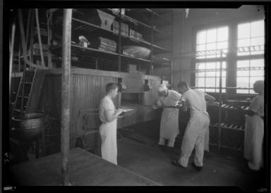 Men Baking Bread