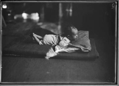 Child on a Mattress, Floor