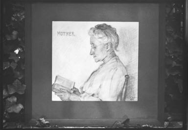 """Drawing of """"Mother"""", 1907"""