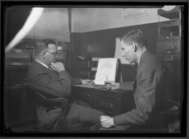 Businessmen close-ups Stein, Murphy