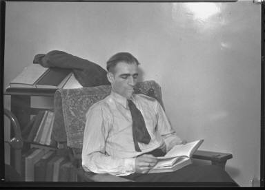 Portait of a Man Reading