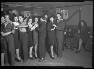 Men and Women Dancing