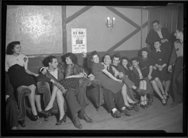 Men and Women Socializing