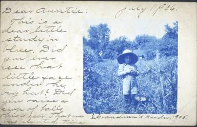 Grandma's Garden, 1905