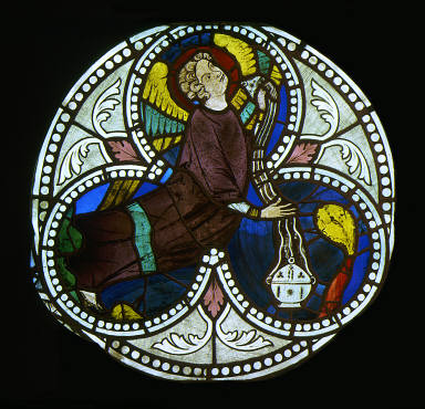 Pair of Windows with Censing Angels