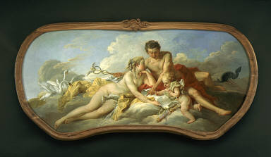 Venus and Mercury Instructing Cupid