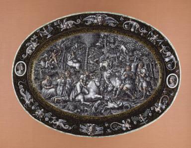 Platter: The Rape of Europa