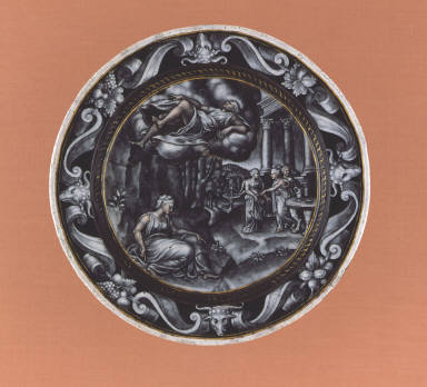 Plate: Psyche Carried by Zephyr to Cupid's Palace