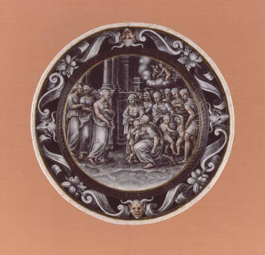 Plate: The Adoration of Psyche