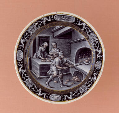 Plate: November (Baking Bread)