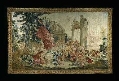 Tapestry with Scene from Story of Bacchus and Ariadne