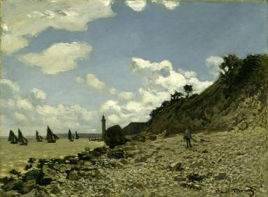 The Beach at Honfleur