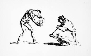 [12, no. 1 (1913), page 8 (bottom), Kunst und Künstler, Untitled]