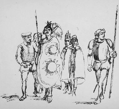 [17, no. 9 (1919), page 348, Kunst und Künstler, Untitled]